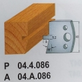 Cuchillo-contracuchillo perfil 40 mm [Felder]